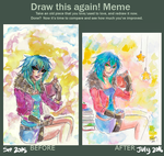 Draw this again meme by ChoFerry