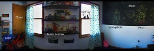 My Office - A Panorama of Fun by bean-stock