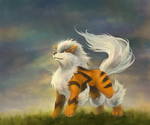 Arcanine by Nepharus