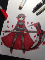 Ruby Rose by capecod7