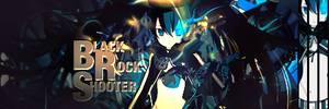 Black Rock Shooter Collab by OhHeyItsSK