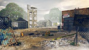 The Walking Dead abandoned campsite 3D by RomanianGuy