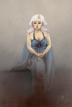 Mother of dragons by Cptn-Nemo