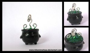 the witch's cauldron by HitomiMelissa