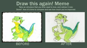87 Draw this again #2 by TheEvilHadrosaur