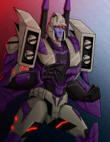 Blitzwing by Wrecker-lady