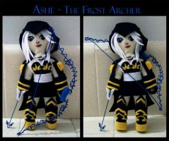Ashe-The Frost Archer Plushie by crymsonlyze