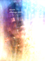 offerings 2009 cd cover by dyzv0r
