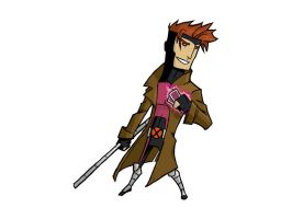 X-MEN: gambit by the-slift