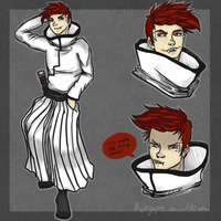 Bleach OC: Chase Taylor by Chicky--poo