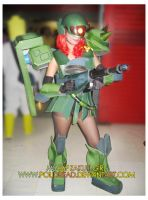 Zaku Girl Cosplay by polidread
