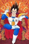 Vegeta Le Prince by shadesoflove