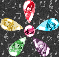 Female Vocaloids by animechatchat234