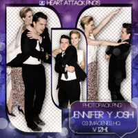 +Photopack Png Jennifer y Josh by AHTZIRIDIRECTIONER