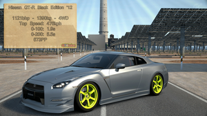 GT6 - Nissan GT-R Black Edition '12 - Stats by GT4tube