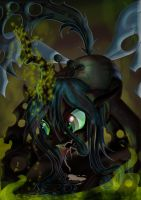 Queen Chrysalis by Toonlancer