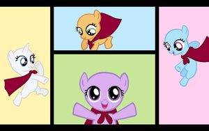 Yaaay Fillies -capes- - BASE by Rain-Approves