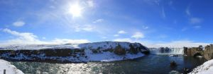 Godafoss Panorama 1 by Skye33