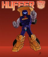 Huffer Colors Done by BDixonarts