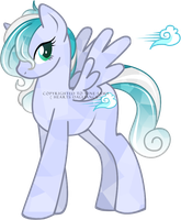 Pony Auction:: Cloud Shimmer [SOLD] by SILK-RIBBON