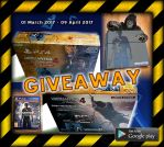 PlayStation 4 Giveaway by MakeM3Happy