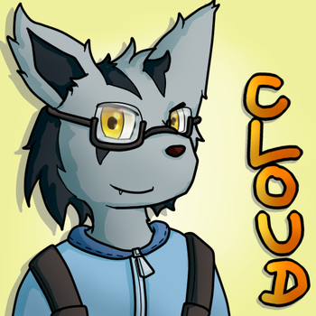Cloud the Mightyena by PseudoLW