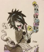 BOTDF Ima Monster Shirt Design Drawing by bewitchedgirl
