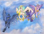 Flying Princesses by PeichenPhilip