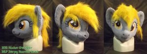 MLP Fursuit Head Derp Horse by AtalontheDeer