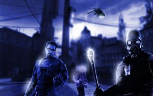 Half life 2 Background by C-vastian