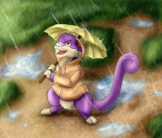 The weather does not affect me by Blue-Uncia