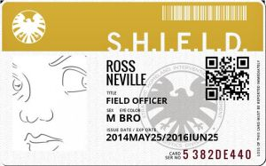 My SHIELD ID Badge by Neville6000