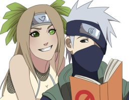 CM: Kakashi and Inko by Chloeeh