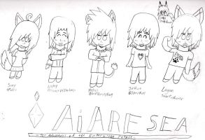 Ai Are Sea Characters 1 by starfoxluver