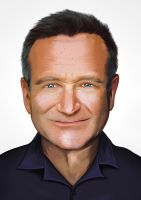 Robin Williams by Thorongil83