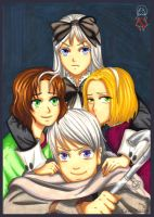 APH: We are Golden by momofukuu