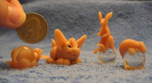 WIP Mini Sculptures by cricket00fur