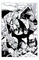 Spidey and Wolvie inks by Venom20XX