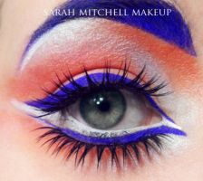 Blue Brow by sarahmitchellmakeup