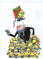 Despicable Me by johnnyism