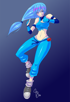 Ninja Jessie by Claymore32