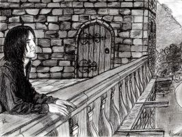 Snape Carefree by ferporcel