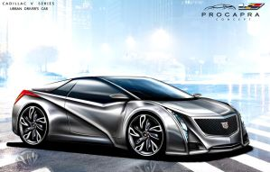 Cadillac Procapra Urban Luxury Coupe in City by toyonda