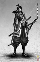 samurai 035 by dinmoney