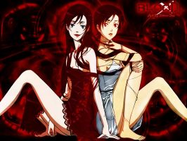 Saya and Diva - BLOOD+ by VictorianDame