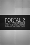 Portal 2 Panels Wallpaper by Pixelgeezer