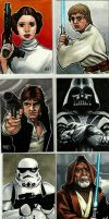 Star Wars Cards by MasonEasley