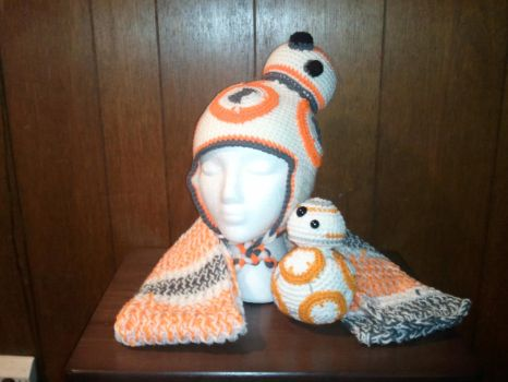 BB-8 Gift set by Nanettew9