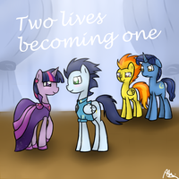 Two Lives Becoming One cover art request by Meevee115