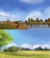 Landscape Studies by epson361